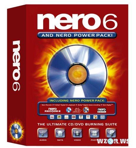 Скачать бесплатно Nero 6 и keygen для регистрации. Качаем кряк, ключи.